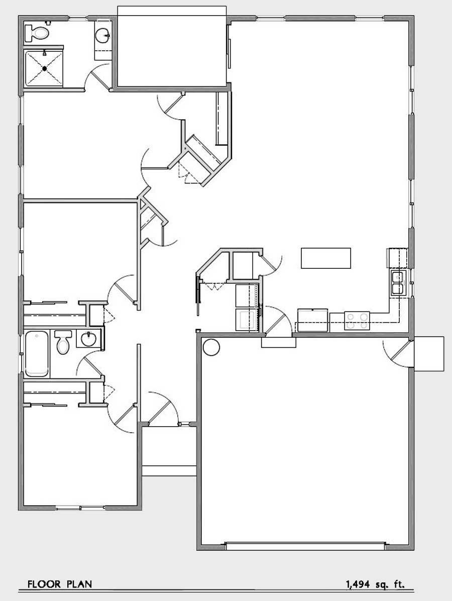 Winston oregon floor plan 5 lookingglass creek estates for Floorplan or floor plan